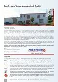 Maschinen & Geräte - Pro-System Verpackungstechnik GmbH - Seite 2
