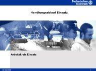 Handlungsablauf Einsatz - THW Ortsverband Berlin Charlottenburg ...