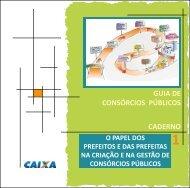 Guia Consórcios Públicos - Programa Cidades Sustentáveis