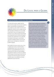 Do Local para o Global. PDF - Programa Cidades Sustentáveis