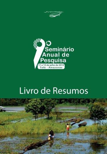 Livro de Resumos - Instituto de Desenvolvimento Sustentável ...
