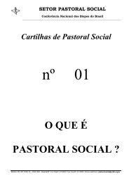 O QUE É PASTORAL SOCIAL ? - DHnet