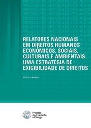 Relatores Nacionais em Direitos Humanos Econômicos ... - DHnet