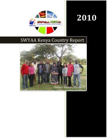 SWYAA Kenya Country Report