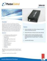 SPM-001 - Photonics Technologies