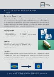 Circularization of SM Laser Diodes General Description Advantages ...