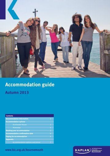 Accommodation_Guide_Autumn 2013 - Kaplan International Colleges