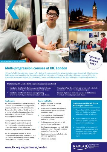 Multi-Progression_Flyer - Kaplan International Colleges