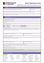 Direct Application Form - Kaplan International Colleges