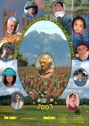 Vol 1 of 4 - Mt Larcom Community Restoration Project - eemag.net