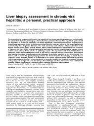 Liver biopsy assessment in chronic viral hepatitis - Neil D. Theise, MD