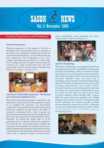 November 2008 - Sacon