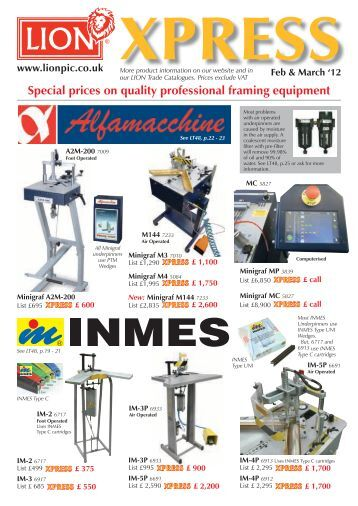 xpress lion picture framing supplies ltd