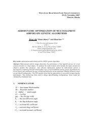 Aerodynamic Optimization of Multi-element Airfoils by Genetic
