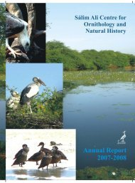 SACON Annual Report 2007-2008