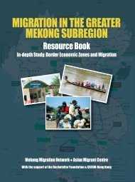 Migration in the Greater Mekong Subregion Resource Book