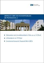 Überblick Über die Wohnimmobilien Zbi ... - Heiter Investment