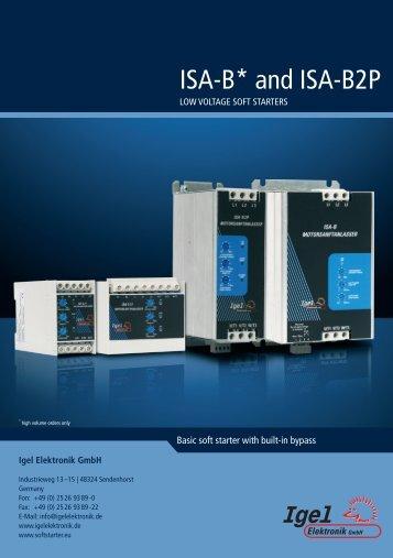 ISA-B* and ISA-B2P - Igel Electric