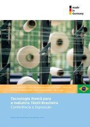 Tecnologia Alemã para a Indústria Têxtil Brasileira ... - ABTT