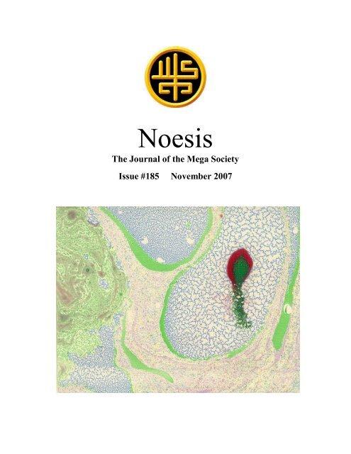 Noesis - The Mega Society