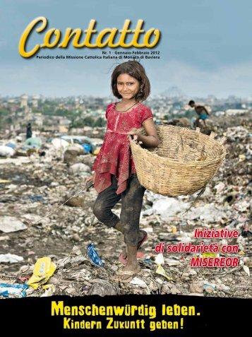 Media:Contatto nr. 01 - 2012.pdf - Missione Cattolica Italiana di ...