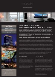 Where the past encounters the future - Sofitel