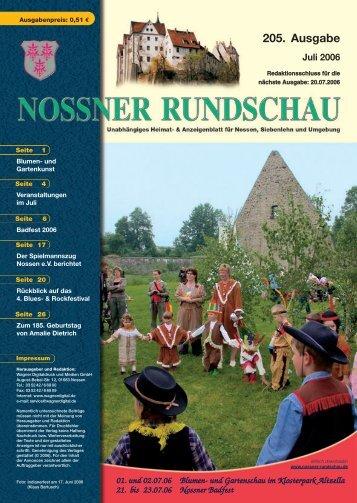 Juli 2006 - Nossner Rundschau