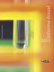 Informe Anual 2003 en PDF - Ecopetrol