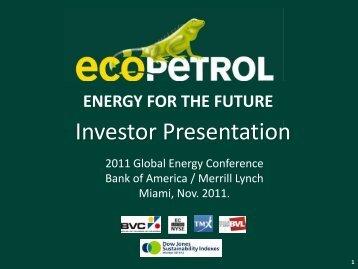Miami - Ecopetrol
