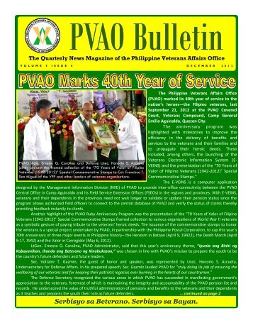PVAO Bulletin - September 2012 Issue.pdf - Philippine Veterans ...