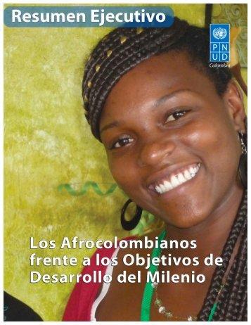 los afrocolombianos frente a los objetivos de desarrollo del milenio