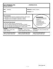 Spanish 3 Curriculum VOCABULARY Avancemos 3 PRELIM Chap ...