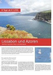 Lissabon und Azoren