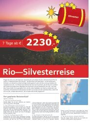 Rio—Silvesterreise - TRAMEX Travel meets experience