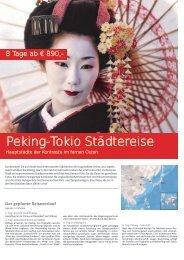 Peking-Tokio Städtereise