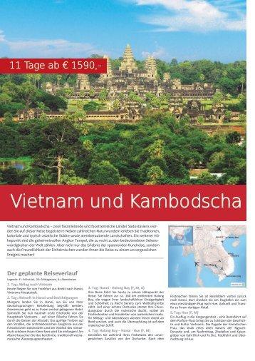 Vietnam und Kambodscha - tramex