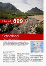 Schottland - TRAMEX Travel meets experience