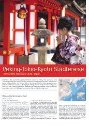 Peking-Tokio-Kyoto Städtereise