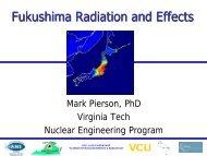 Fukushima Radiation and Effects