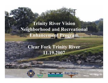Clear Fork - Trinity River Vision