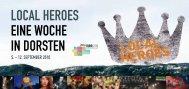 Local-Hero-Programm Dorsten - VHS und Kultur