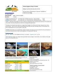 www.divingtravel.se Tel: 0920 228589 DESTINATION Egypt - Sharm ...