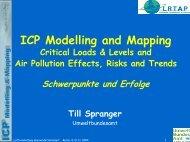ICP Modelling and Mapping – Schwerpunkte und Erfolge - fbu-ev.de