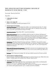 der afholdes bestyrelsesmøde i brande if mandag d. 09.06.2008 kl ...