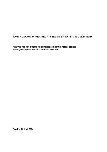 woningbouw in de drechtsteden en externe veiligheid - route27.nl