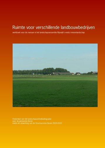 3 Werkboek Rijswijk - Gemeente Buren