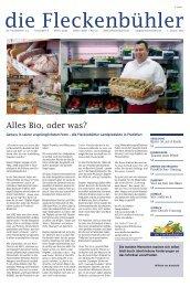 Ausgabe 1/2010 - die Fleckenbühler