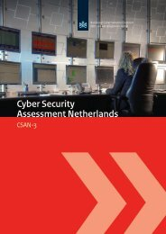third Cyber Security Assessment Netherlands - NCSC