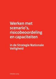 Werken met scenario's, risicobeoordeling en capaciteiten 2009