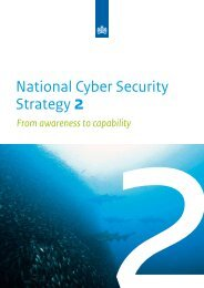 National Cyber Security Strategy 2 - National Coordinator for ...